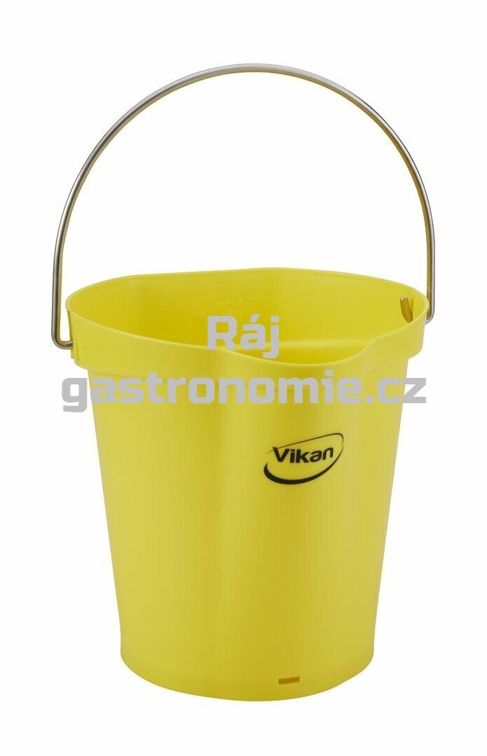 Vědro 6 litrů - žlutá