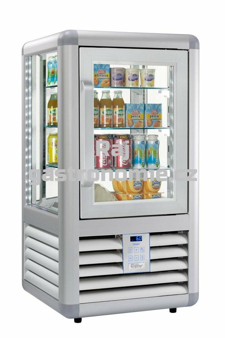 Chladící panoramatická nápojová vitrína CEB100V