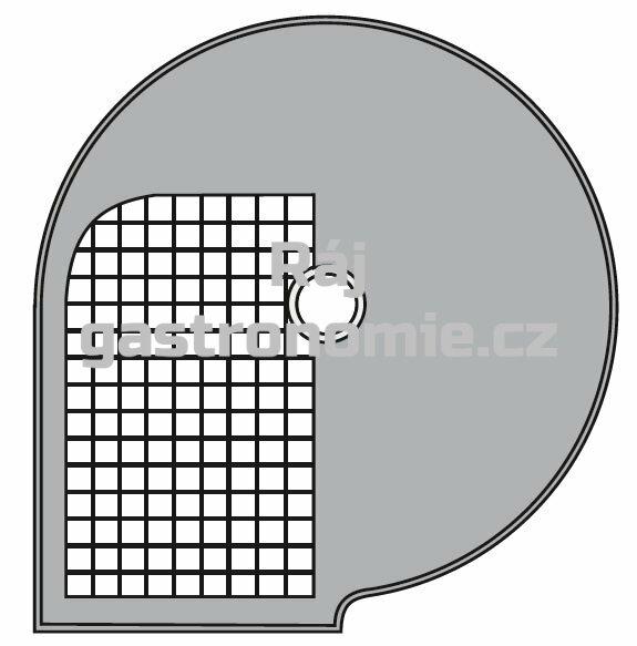 Kotouč D 20x20 Φ 205 mm, řez 20x20 mm