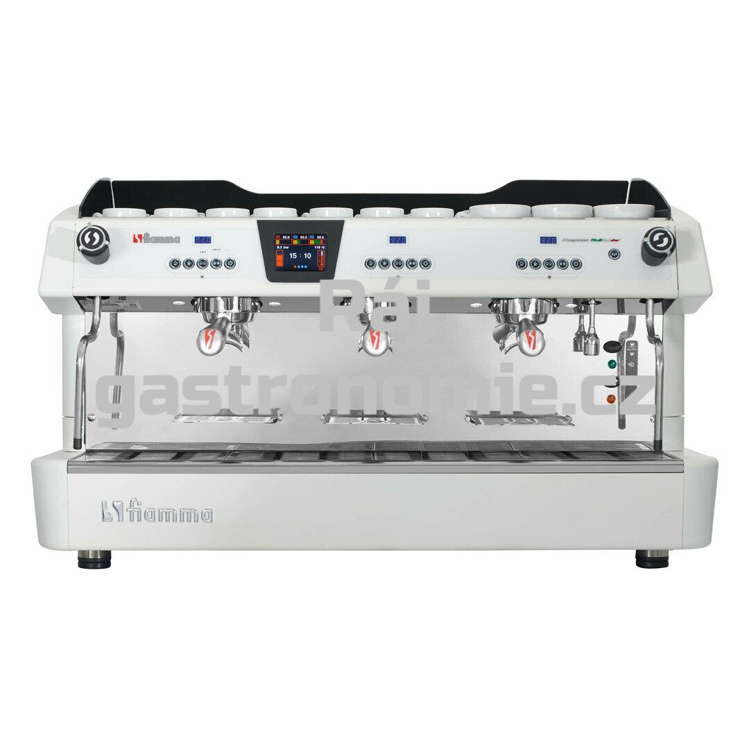 Třípákový kávovar COMPASS III MB TC bílý