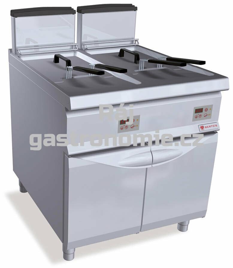 Plynová fritéza Bertos S9GL22+22MEL