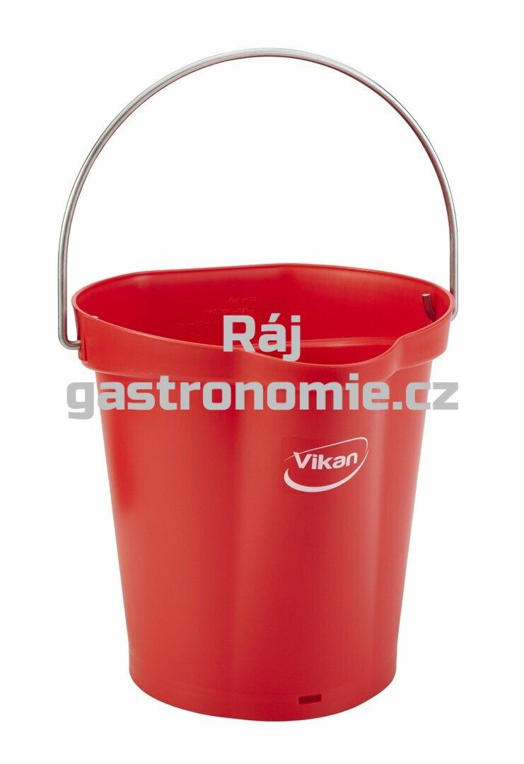 Vědro 6 litrů - červená