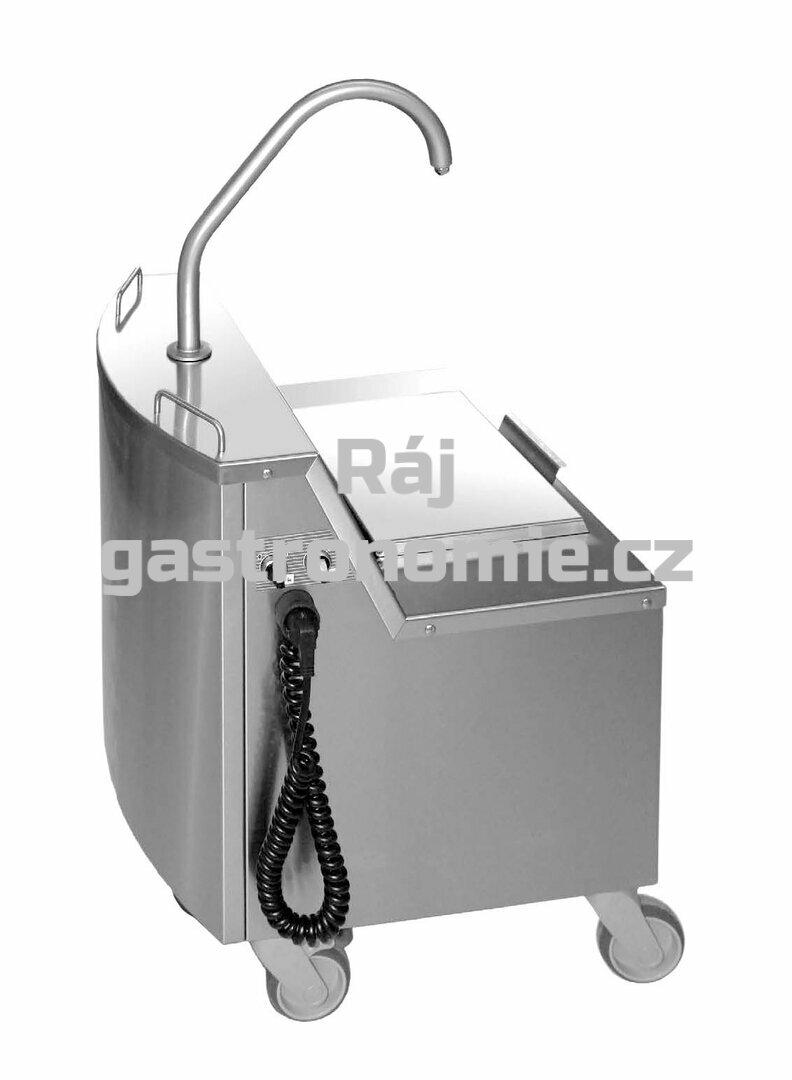 Vozík na olej pro multifunkční pánve Rational iVario® Pro