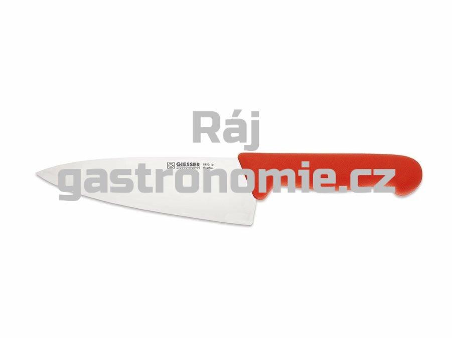 Nůž kuchařský 200 mm - červený