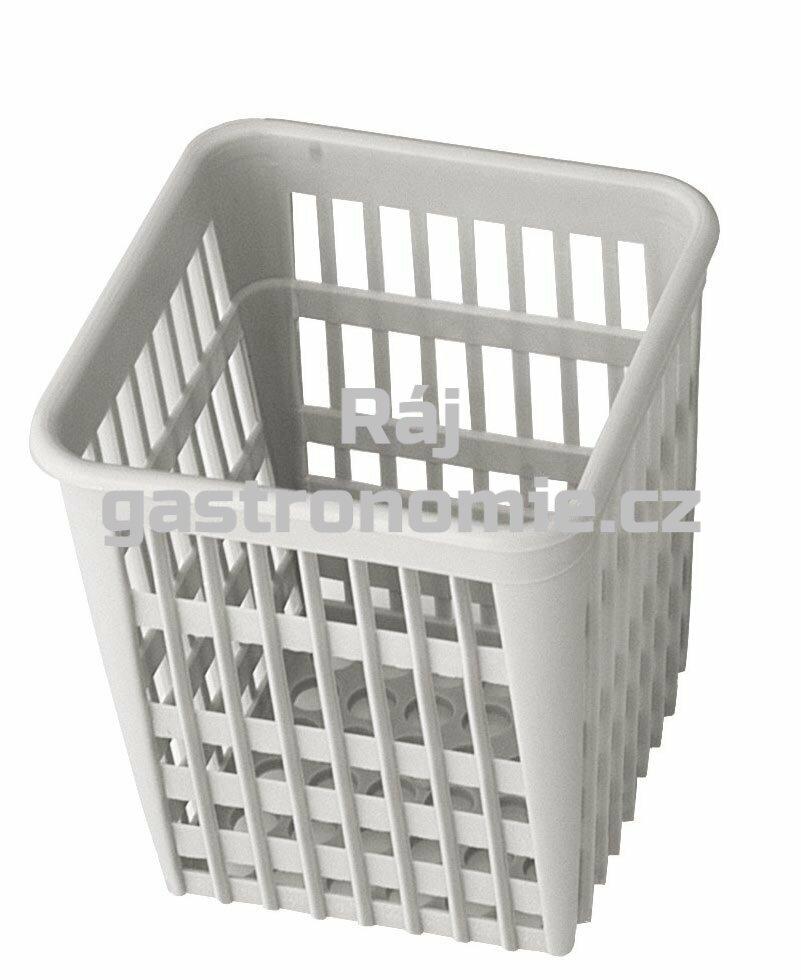 Košík na příbory - hranatý