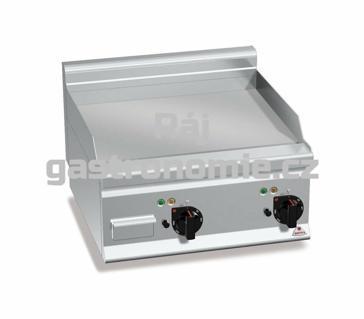 Grilovací hladká plotna Bertos E6FL6B-2