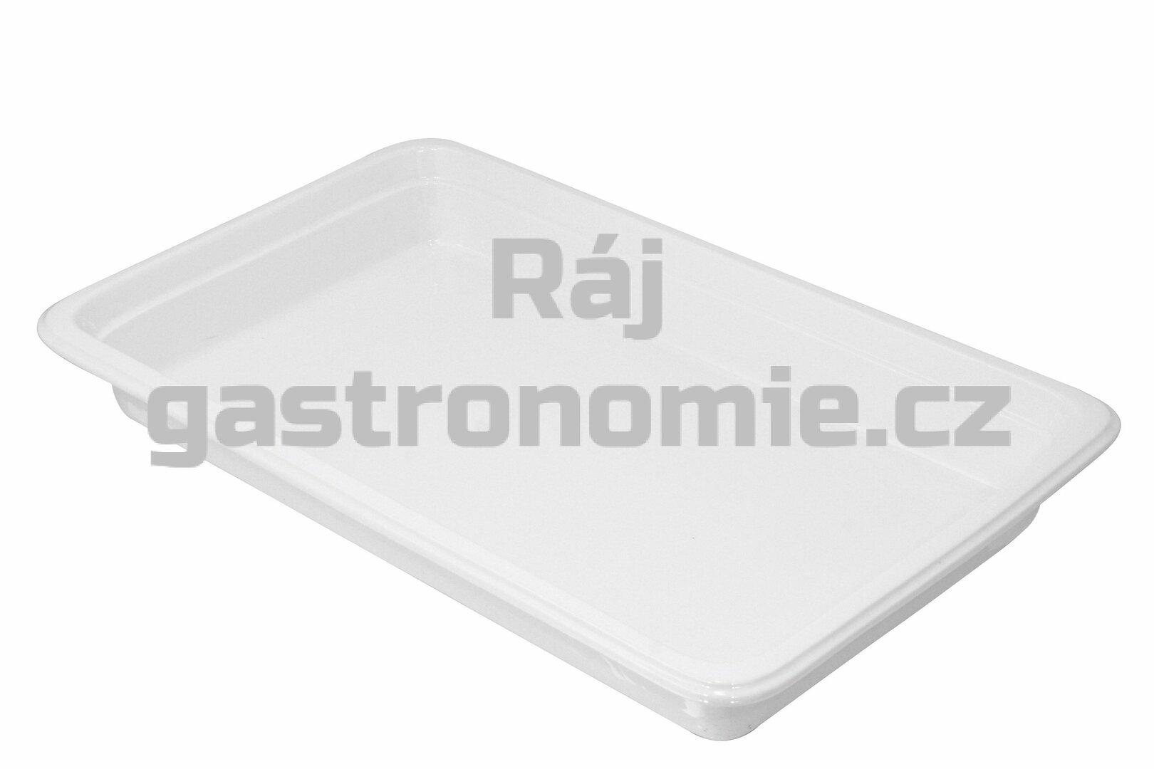 GN 1/1 (h=65 mm) porcelánová