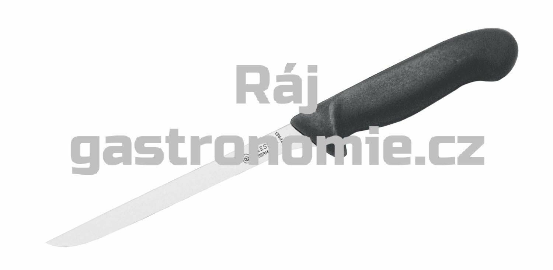 Nůž filetovací - 210 mm, černý