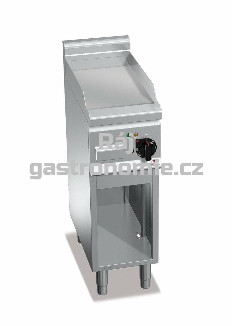 Grilovací hladká plotna Bertos E6FL3MP