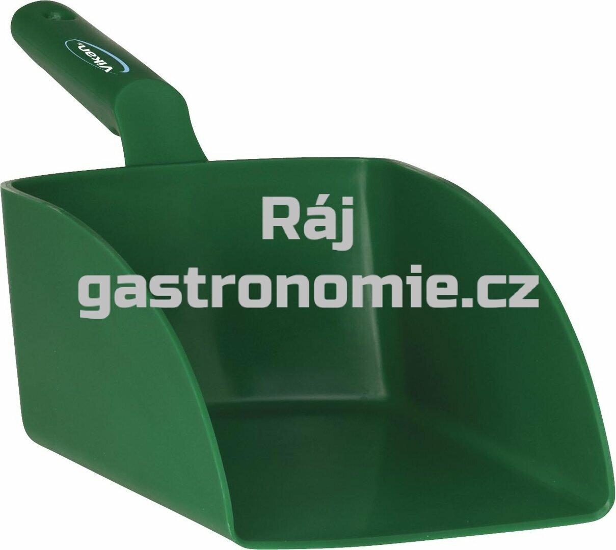 Lopatka ruční velká 2 litry - zelená