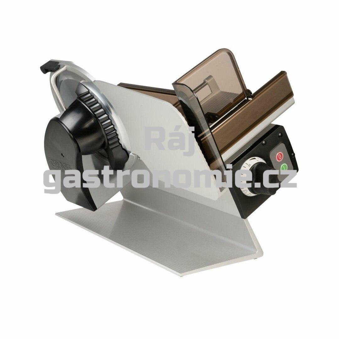 Nářezový stroj Graef CONCEPT 25S - hladký nůž/ocel