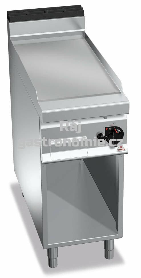 Grilovací hladká plotna Bertos G9FL4M/CR (hladká)