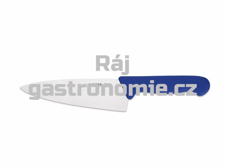 Nůž kuchařský 200 mm - modrý