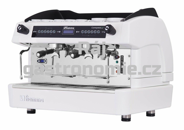 Dvoupákový kávovar COMPASS II DualBoiler (bílý)