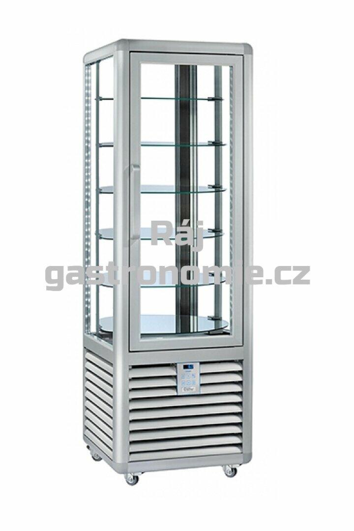 Chladící cukrářská panoramatická vitrína CPS350R