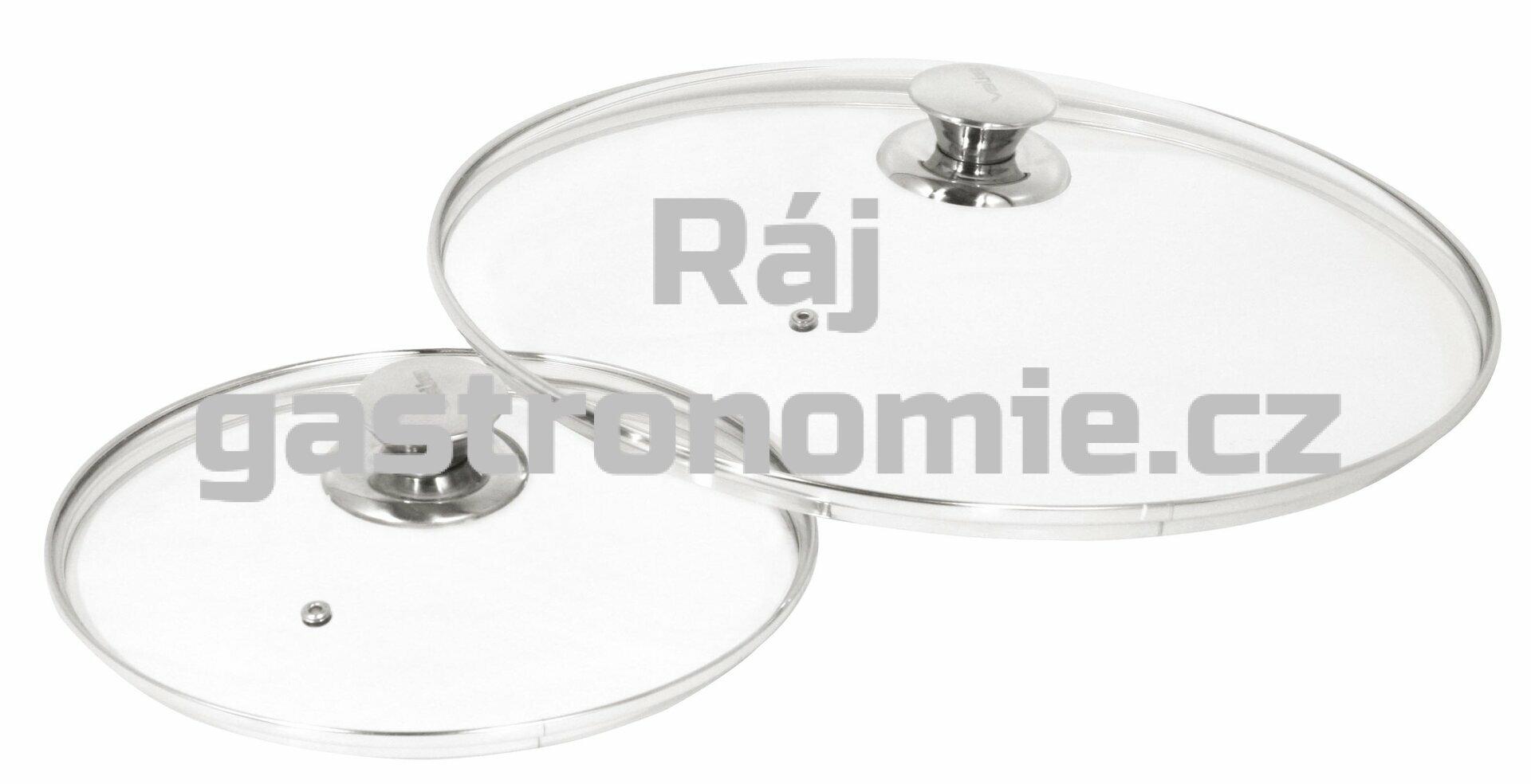 Poklice tvrzené sklo s obručí (Ø240 mm)