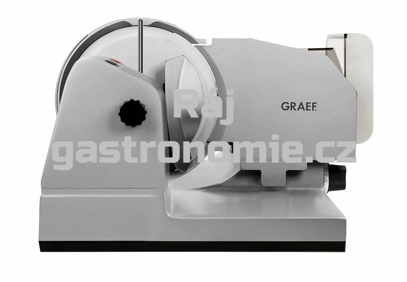 Nářezový stroj Graef Master 3020 CERA3