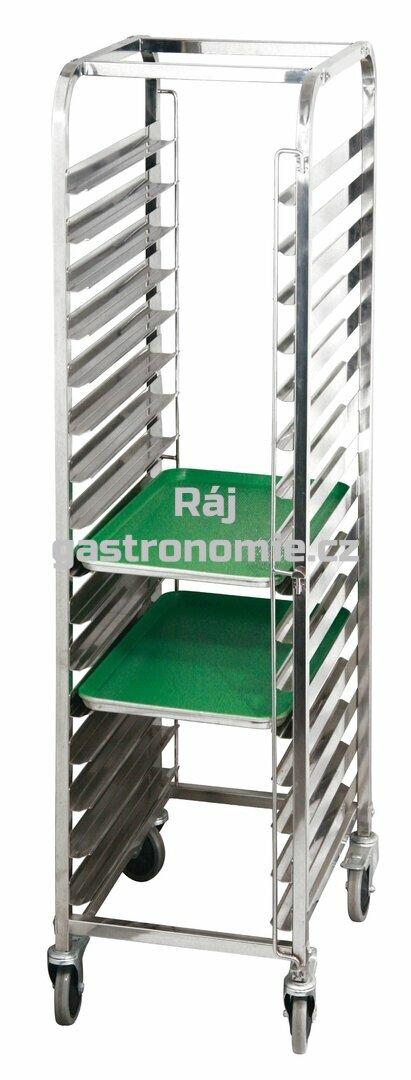 Regálový nerez vozík RVJ-16 (600x400)
