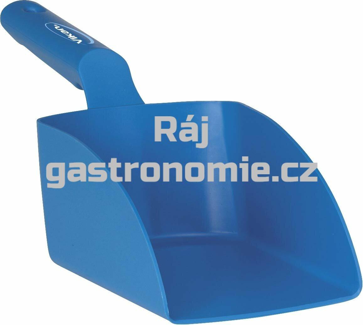Lopatka ruční střední 1 litr - modrá