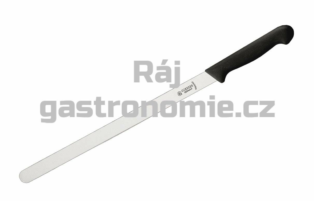 Nůž na lososa - 31 cm, černý
