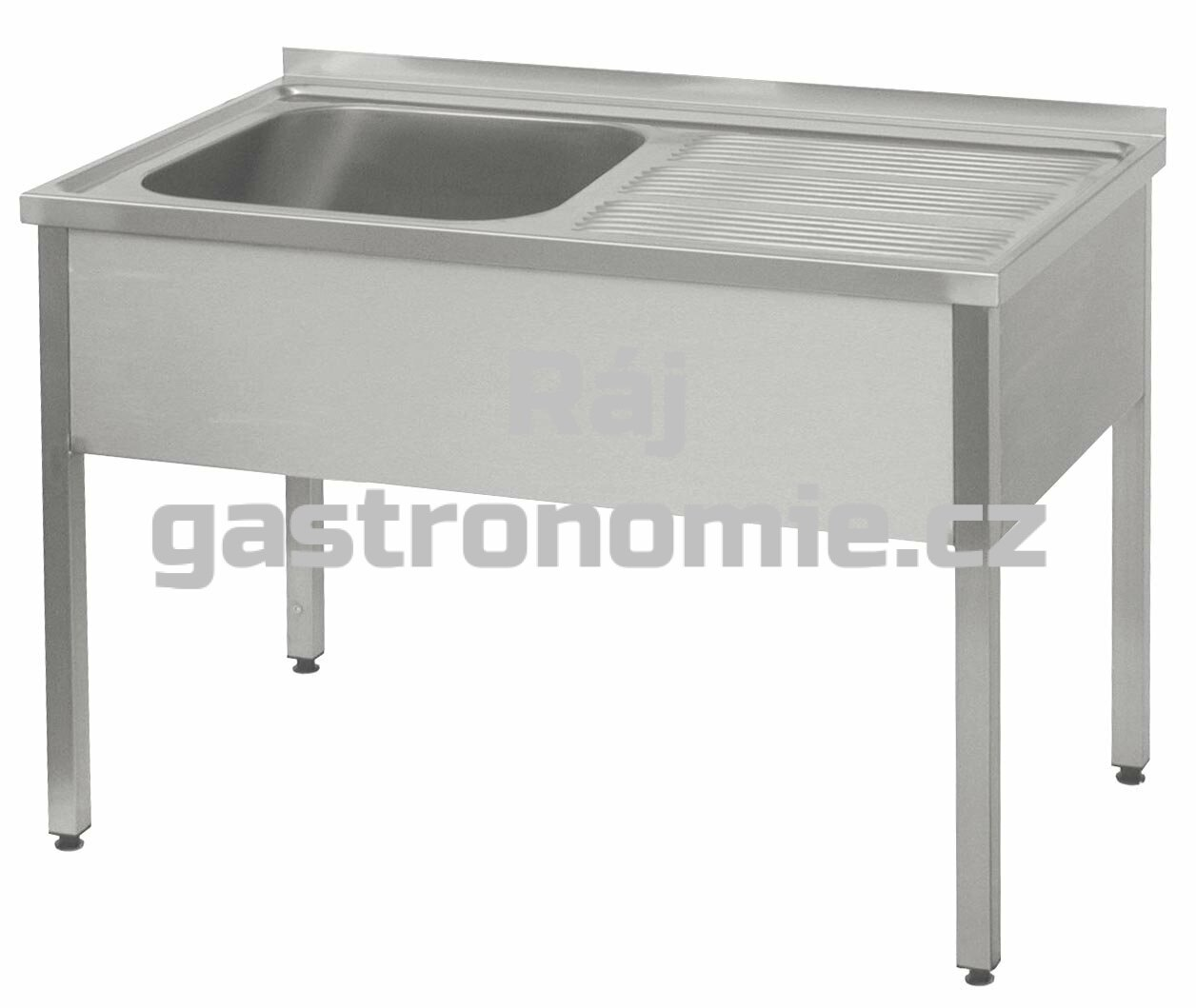 Dřez - 140x60, nádoba 50x50x30 cm