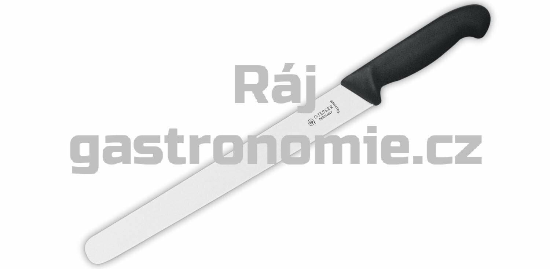 Nůž krájecí uzenářský 360 mm - černý