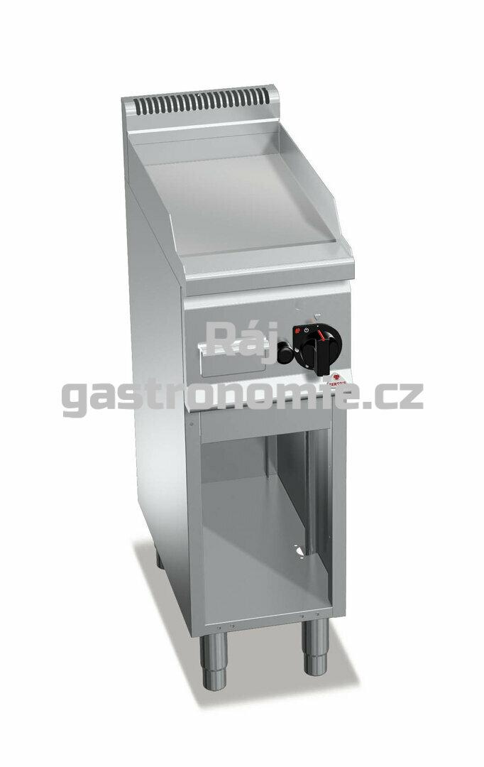 Grilovací hladká plotna Bertos G6FL3M