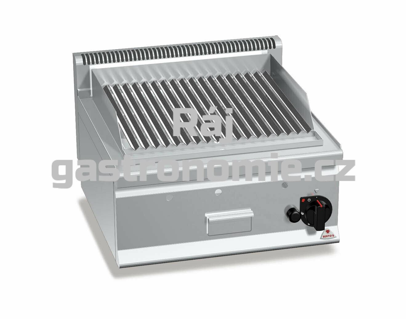 Lávový gril Bertos G6PL60B
