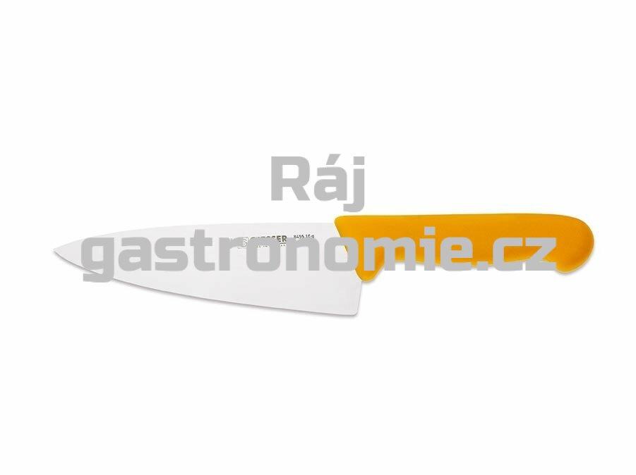 Nůž kuchařský 200 mm - žlutý