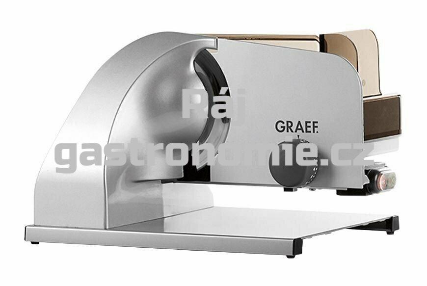 Nářezový stroj Graef BI 1920 DE - hladký ocelový nůž