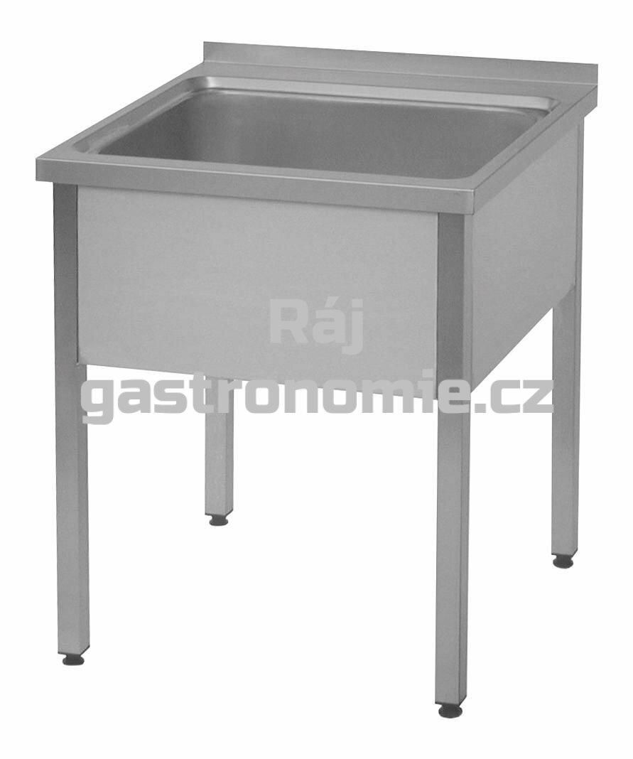 Dřez - 60x60, nádoba 50x50x25 cm