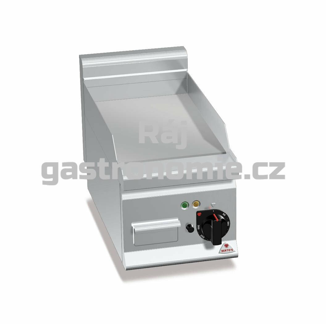 Grilovací hladká plotna Bertos E6FL3B