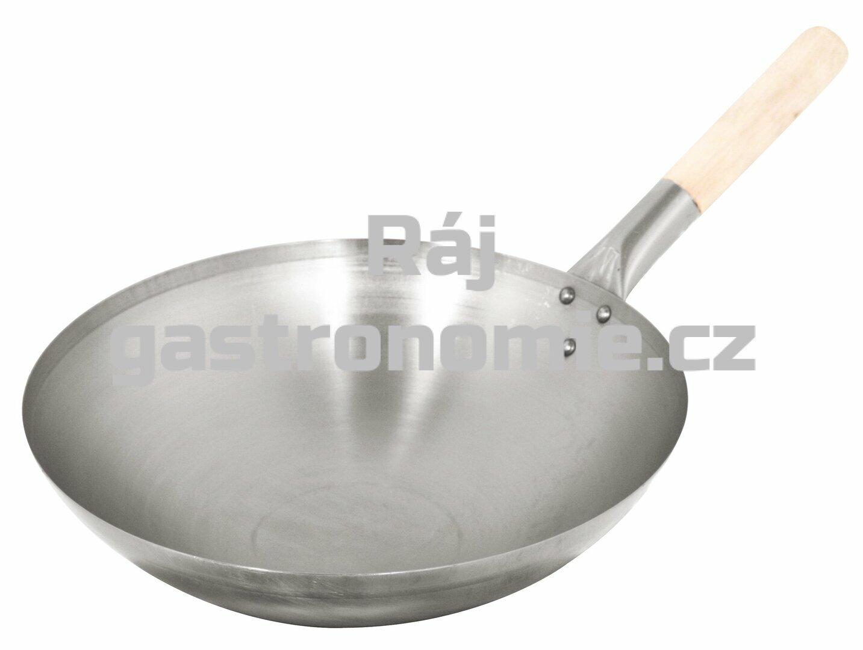 Pánev WOK ocelová (Ø350 mm,1,3 kg)