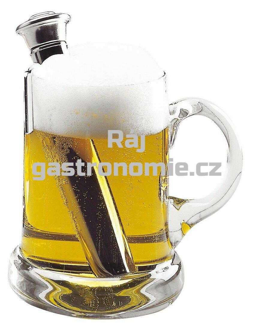 Ohřívátko piva (6x16,5 cm)