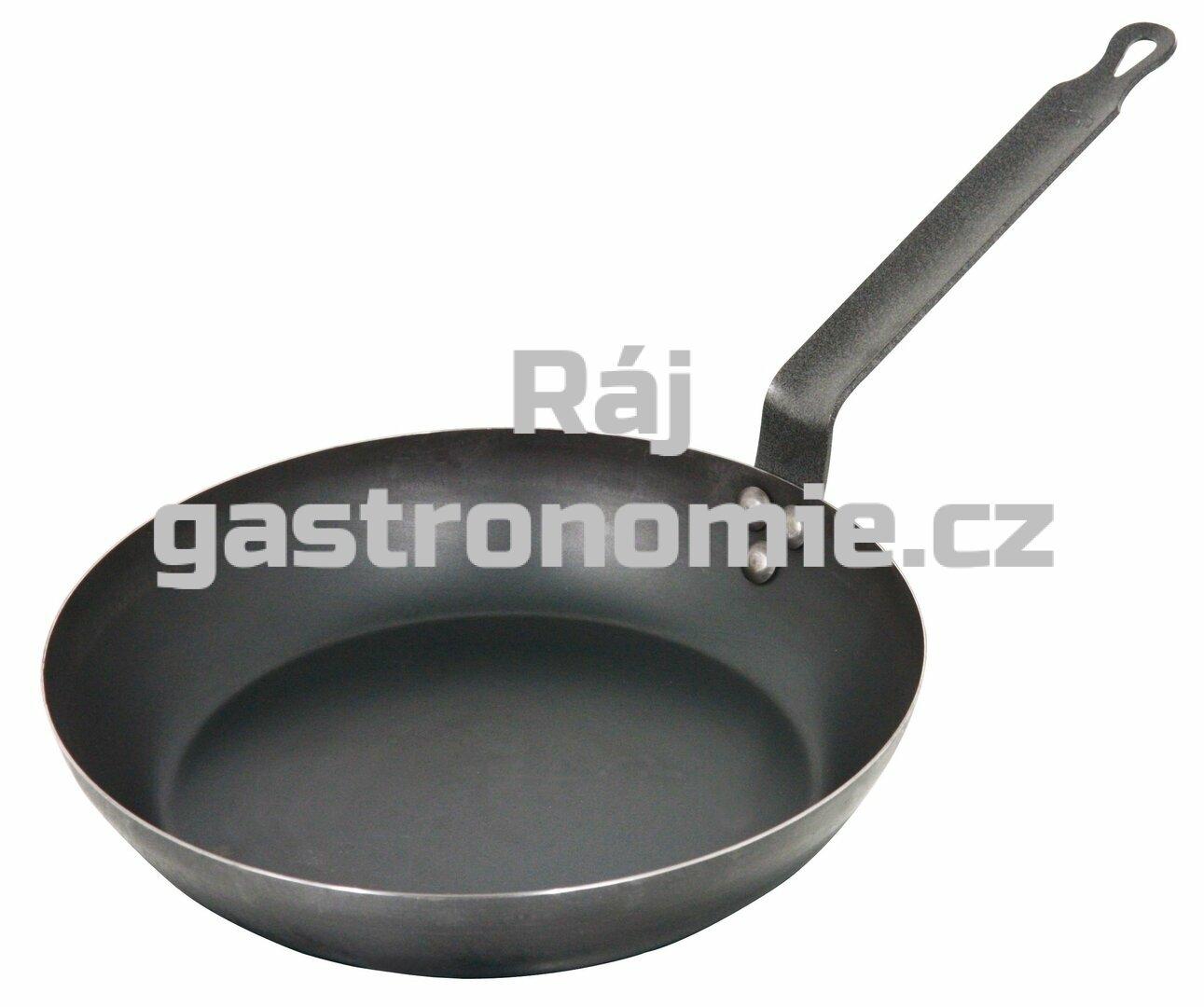 Pánev černá ocel Ø 28 cm
