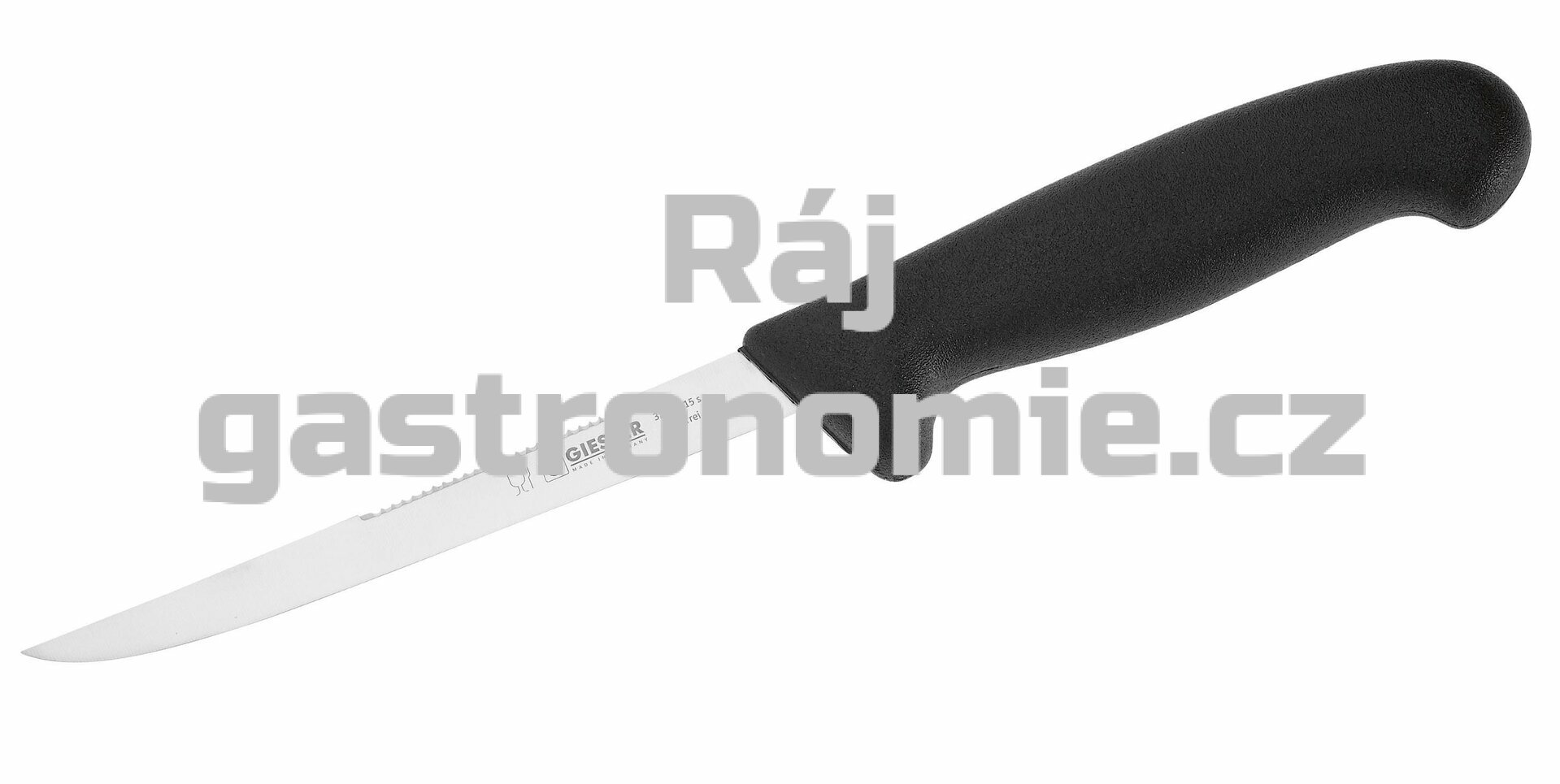 Nůž filetovací se škrabkou - 150 mm