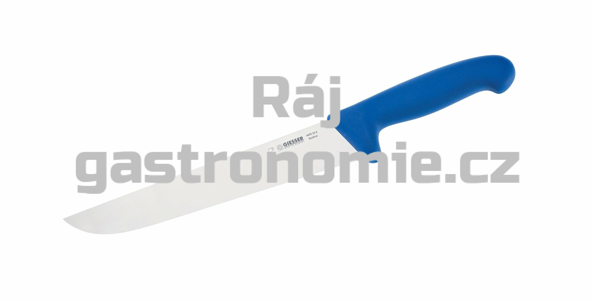 Nůž na maso 18 cm - modrý