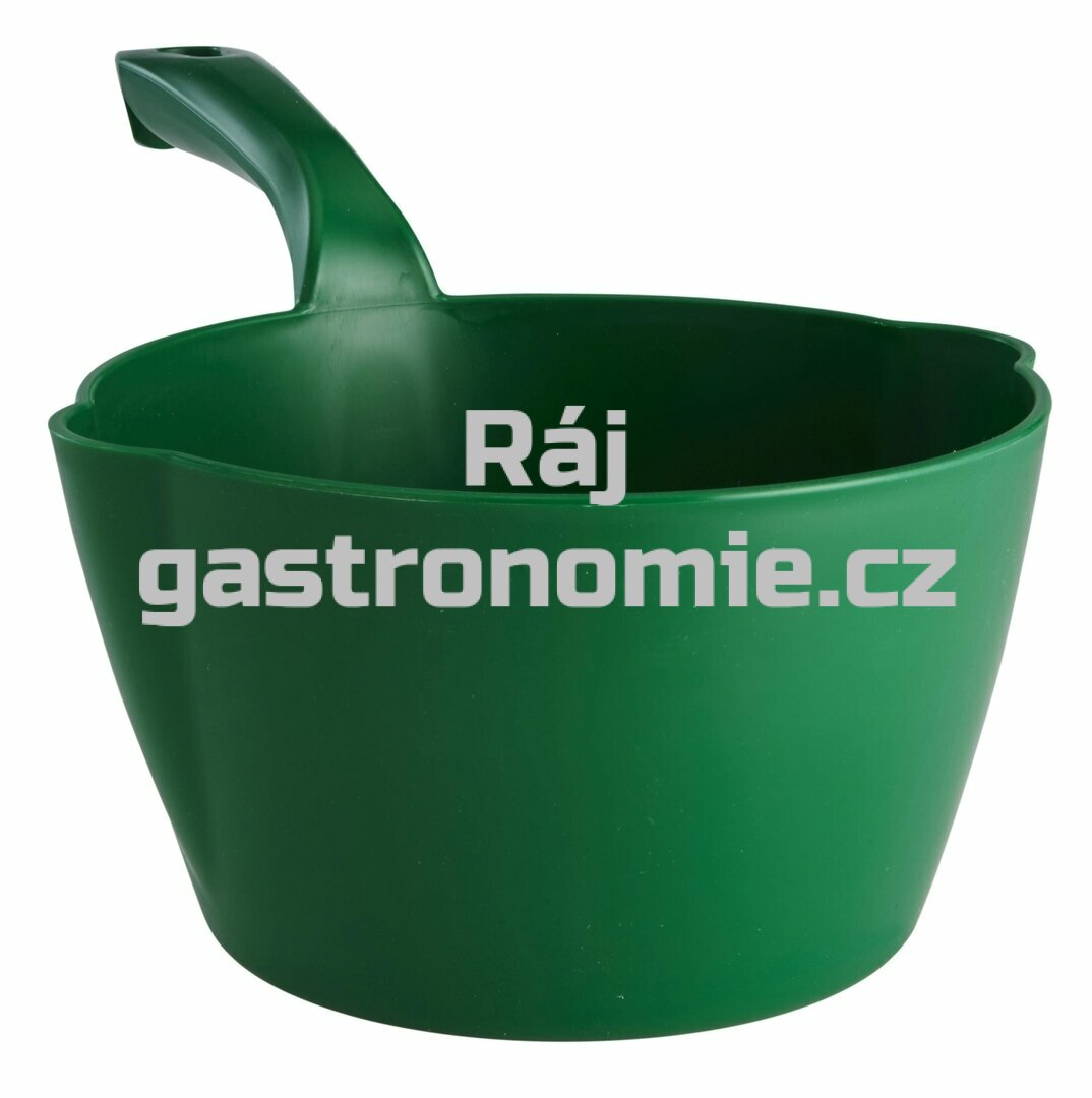 Naběračka oblá 2 litry - zelená
