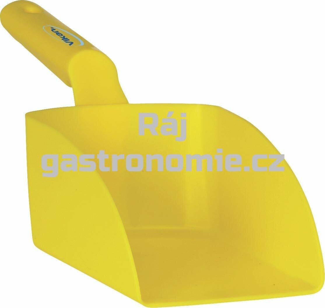 Lopatka ruční střední 1 litr - žlutá