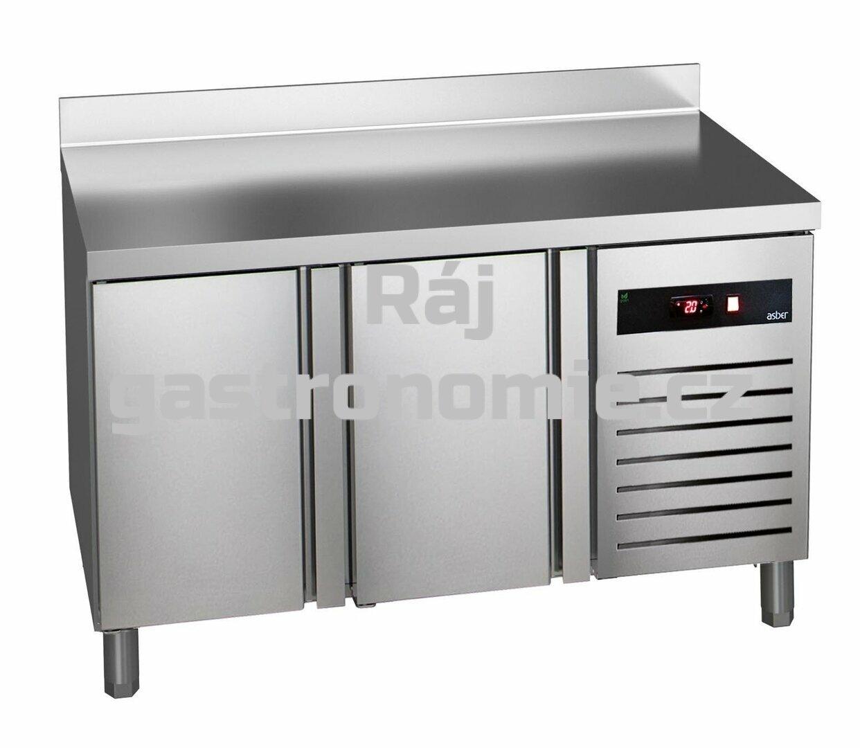 Chladící stůl Asber GTP-7-135-20 - agregát vlevo + dřez