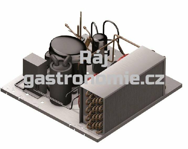 Vzdálená jednotka W35RF 100/80kg (4HP) - krytovaná