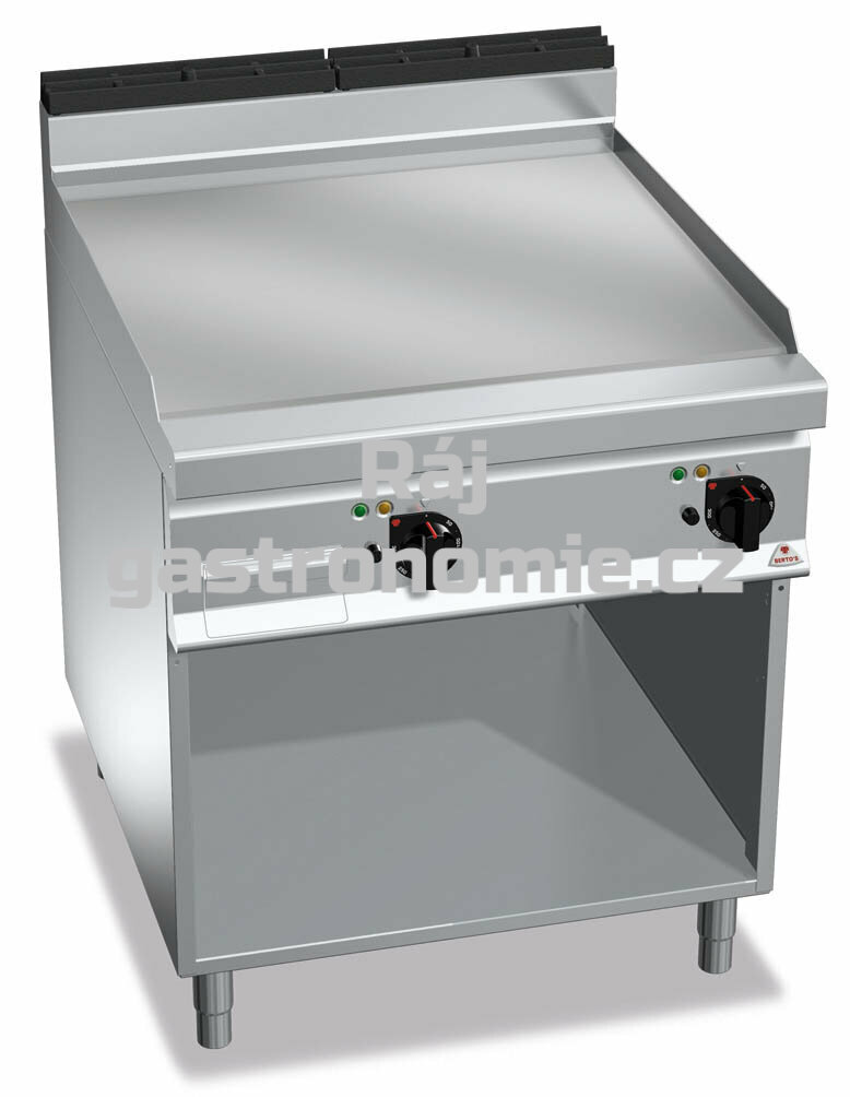 Grilovací plotna Bertos E9FL8M-2/CR