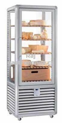 Chladící vitrína na sýry panoramatická CFR450RLC-CL