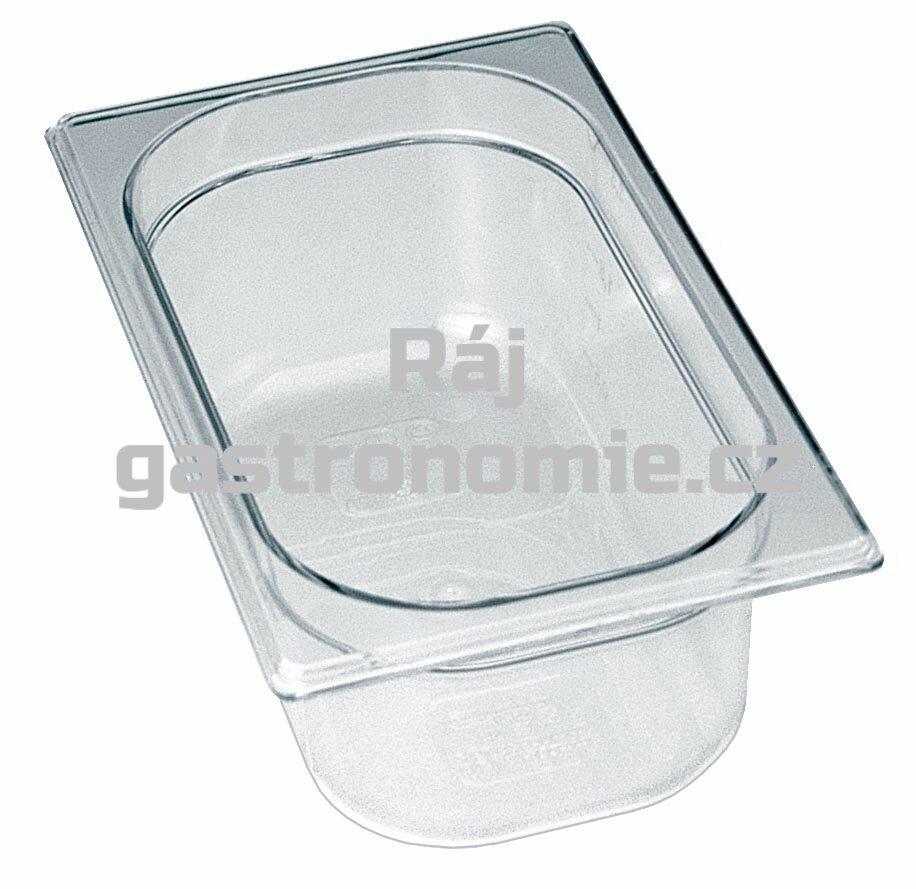 GN 1/4 (h=65 mm) polykarbonátová
