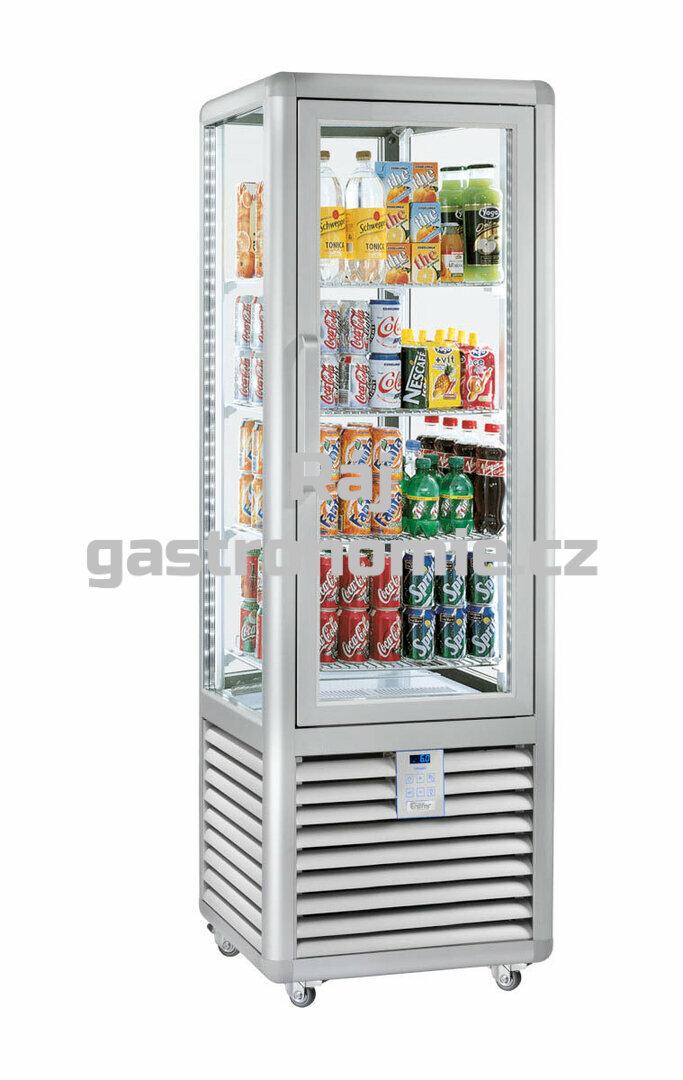 Chladící panoramatická nápojová vitrína CBV450G