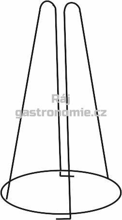 Stojan na inventář nerez Ø220 x 420 mm