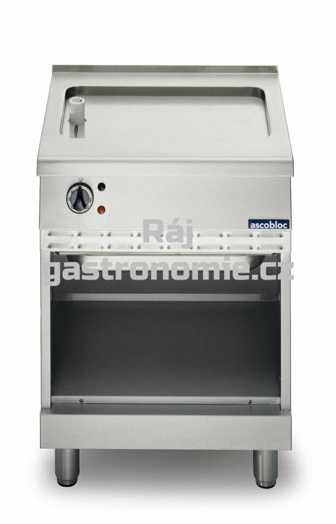 Elektrická grilovací deska Ascobloc SEB 240 (vroubky)
