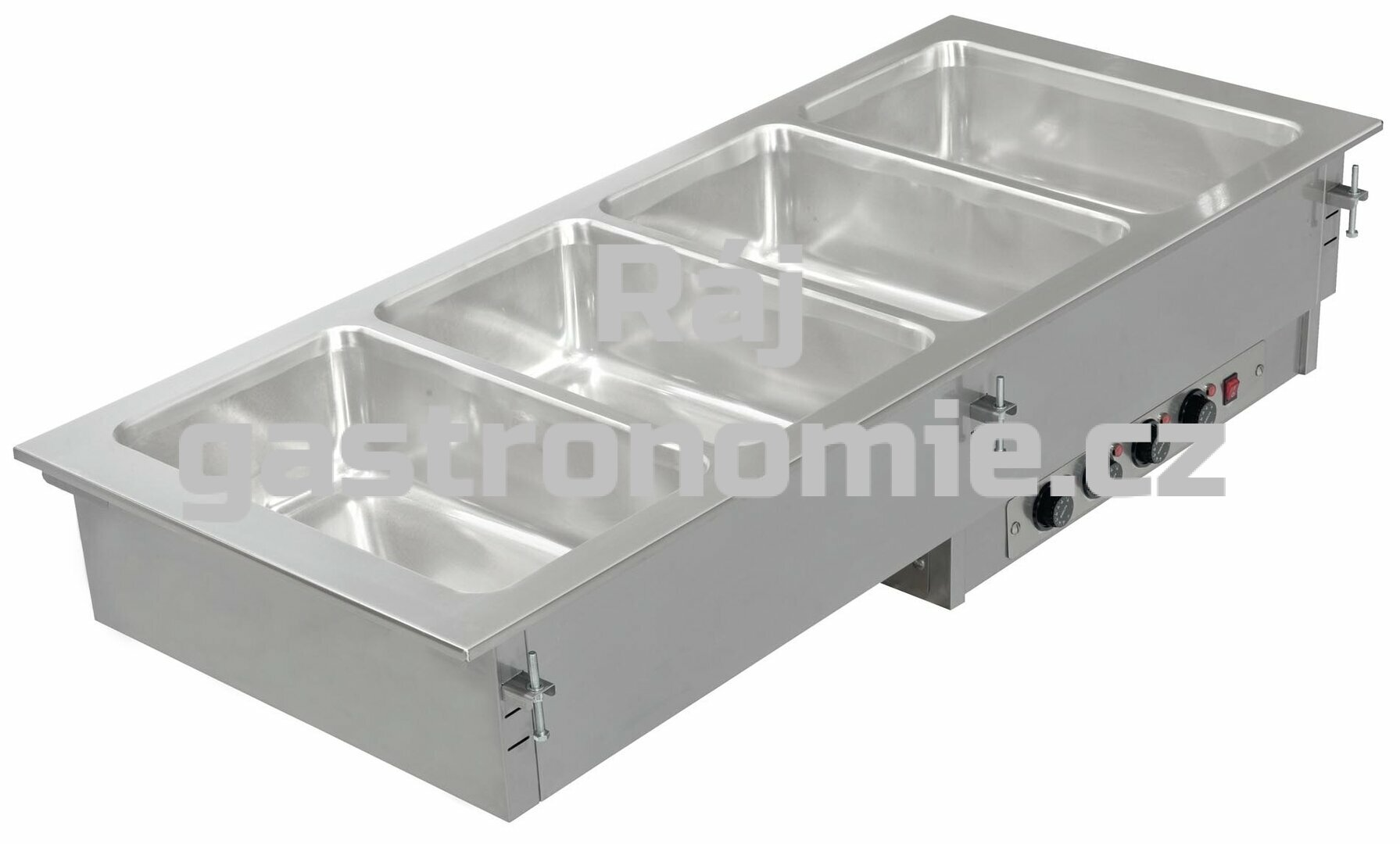 Vestavná teplá vodní lázeň ASBER DBM 211/I - dělená