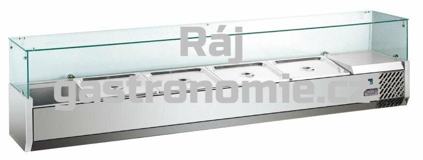 Pizza chladící pultová vitrína MVRX1800-1/4