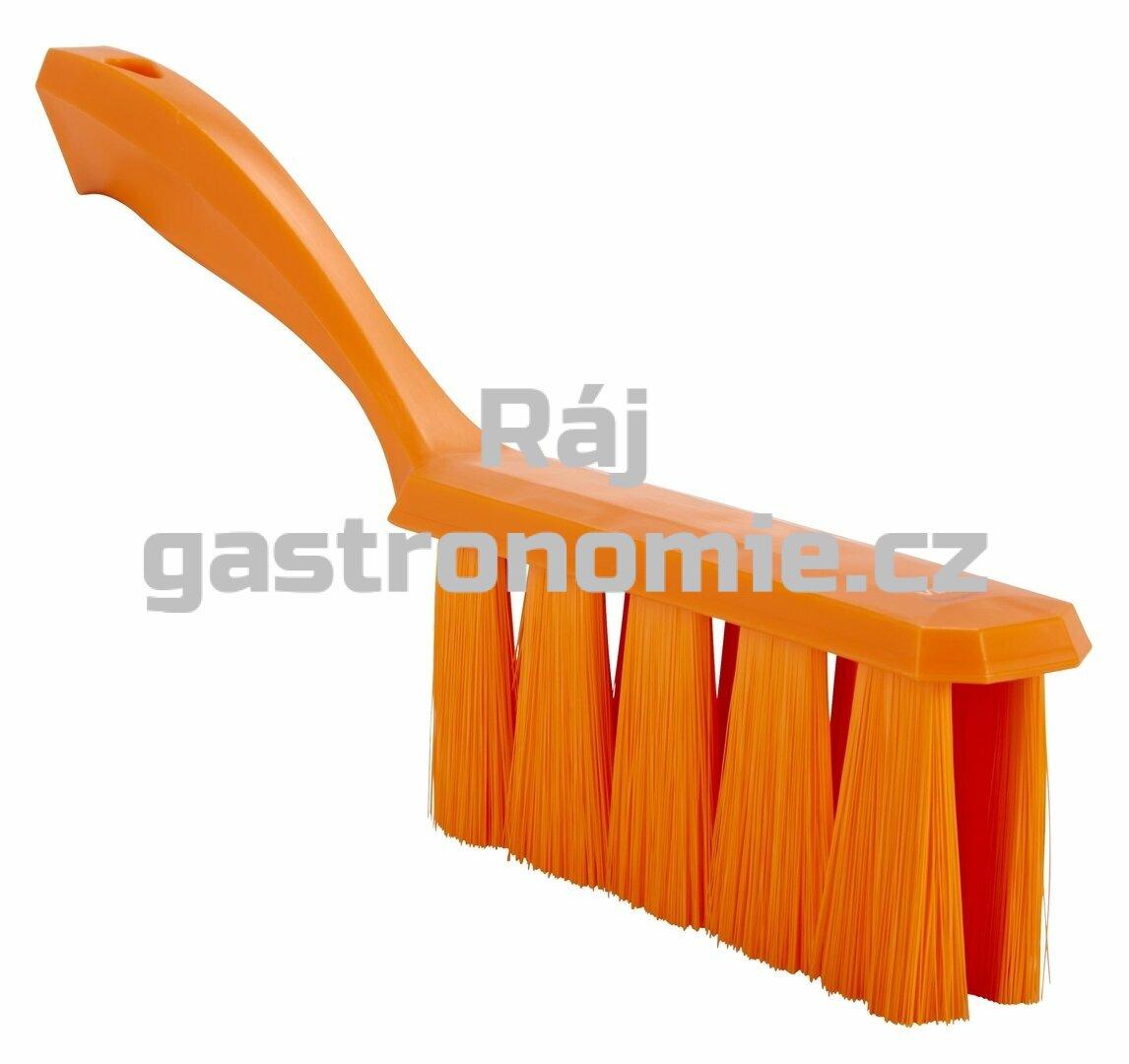 Smetáček s rukojetí UST měkký - oranžový